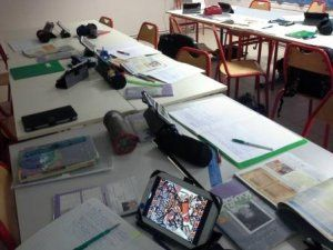 Classe mobile à Pont Saint-Esprit : mise en place technique du dispositif