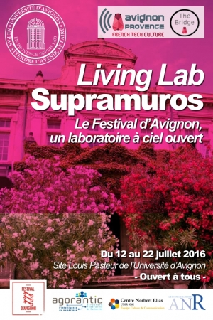 [French Tech Culture] L'Université d'Avignon déploie le Living Lab Supramuros