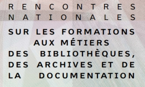 Formations aux métiers de la documentation