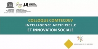 Appel à communication jusqu'au 30/07 : Colloque COMTECDEV – Intelligence artificielle et innovation sociale