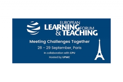 Paris, 28 & 29 septembre : 1st European Learning & Teaching Forum