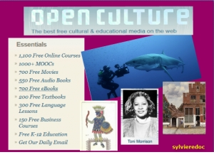 Le portail culturel Open Culture
