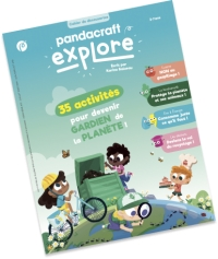 Pandacraft lance sa collection de Cahiers de Découvertes