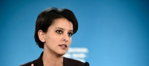 La ministre de l'Education nationale, Najat Vallaud-Belkacem, le 22 janvier 2015 à Paris