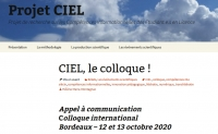 Appel à communication  Colloque international  Bordeaux – 12 et 13 octobre 2020
